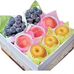 【贈答用】 3種フルーツ詰め合わせ 葡萄 桃 梨