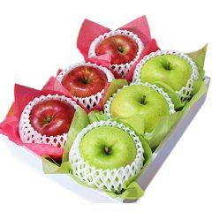 【 敬老の日 ・ 贈答用 】 旬の林檎 フルーツセット