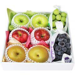 秋のフルーツセット 葡萄 林檎 梨